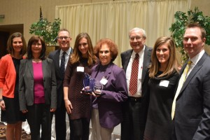 From Left to Right: Mitzi Meyer-Phelan, Julie Anwander, Tom Meyer, Meagan Anwander, Betty Meyer, Ted Meyer, Madison Meyer and Mike Meyer.