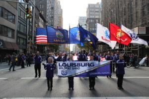 Louisburg Marching Band