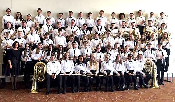 Kansas Middle School Band Director & Students Make Their Mark at 2017 KMEA Conference